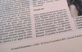 Portage Salarial : Lydie Roussel intervient dans le nouvel économiste