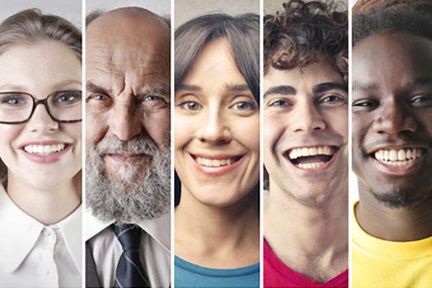 image portraits de plusieurs personnes